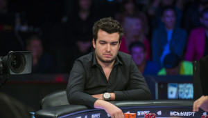 Chris Moorman Playing at the Final Table of World Poker Tour LAPC