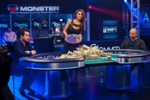 The WPT Money Presentation and about to start heads up!