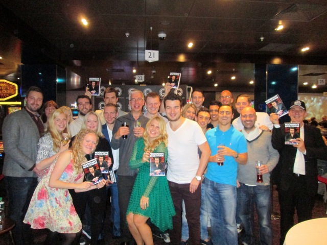 Chris- Moorman and friends Moorman Book of Poker - Launch Party