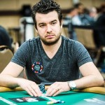 Winning hand: Chris Moorman, 31, played bridge with his parents as a child