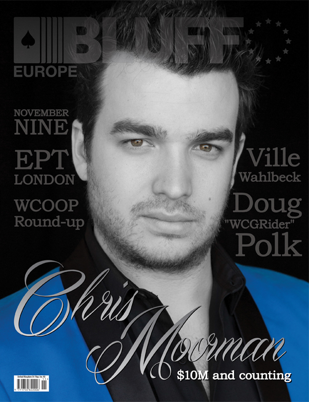 Chris Moorman on Bluff Europe Magazine