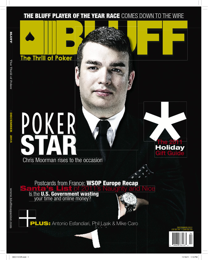 Chris Moorman on Bluff Magazine