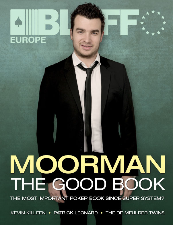 Chris Moorman on the Bluff Europe Magazine cover, November 2014