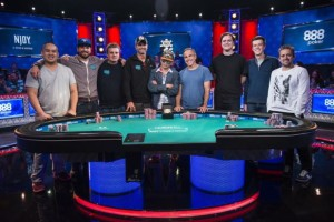2016 WSOP Main Event Final Table