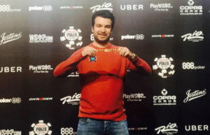 Chris Moorman 2017 WSOP Event #27 Bracelet Winner Ceremony